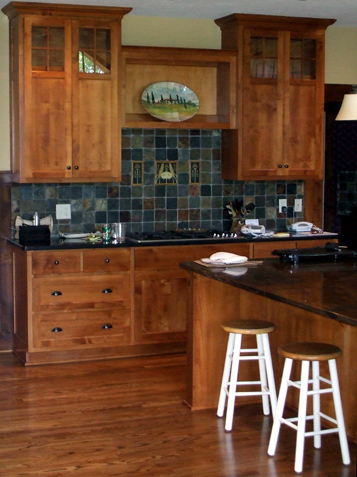 Mission Or Shaker Style Custom Kitchen Cabinets