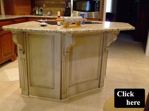 Superbe ... Custom Island Cabinet   Olathe, Kansas