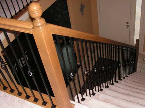 Iron Baluster Change The Look Of The Staircase From Old Fashioned To Modern  U0026 Elegant