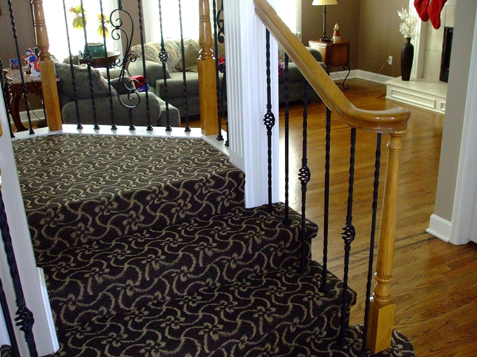 Staircase entrance with Turnout Fitting