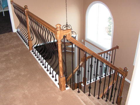 Iron Balusters Installed