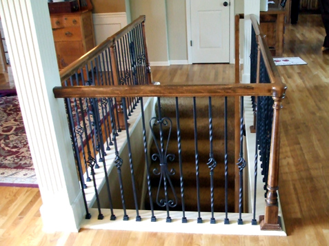 Replace Wood Baers Iron Baer Spindles