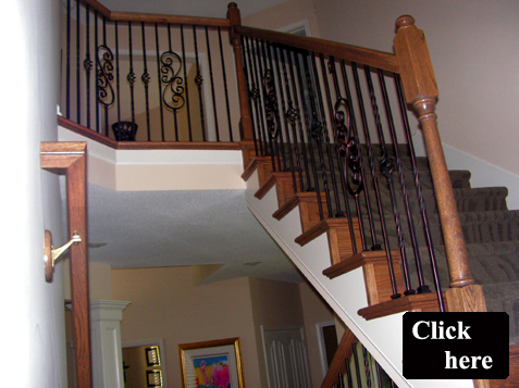 Superieur Staircase Needs Updating, Easiest Way To Update A Home