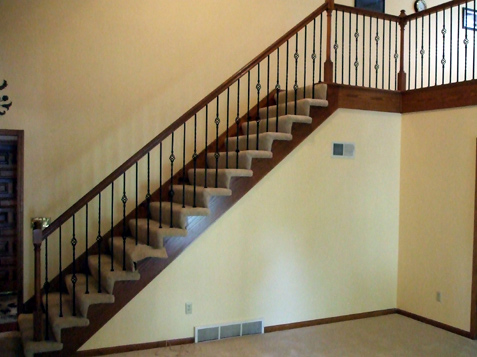 Iron Spindle Replacement And Staircase Transformation Kc