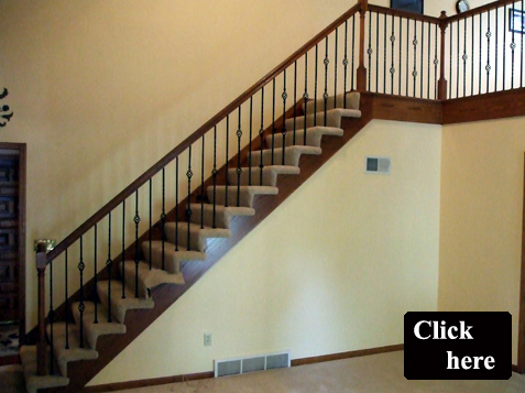 Iron Spindle Replacement and Staircase Remodel