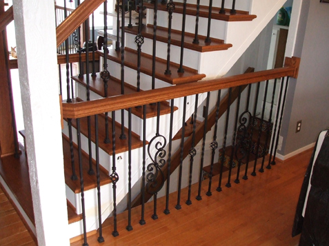 Charmant ... Update Your Home For Low Cost With Iron Spindles And Staircase By KC  Wood