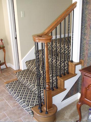 Basement Stair Trim