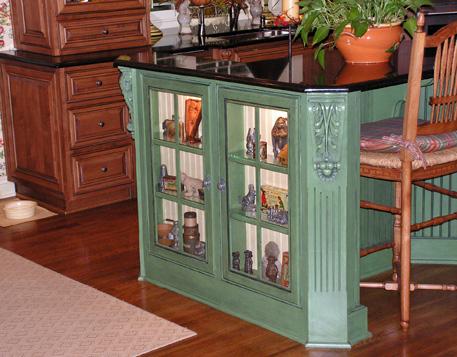 Custom Kitchen With Beaded Inset Doors Kc Wood