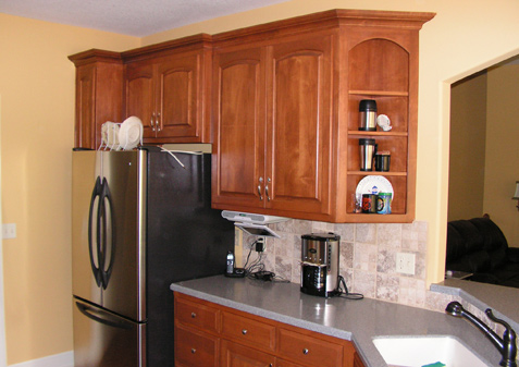 Custom Kitchen Cabinets Countertops Kc Wood