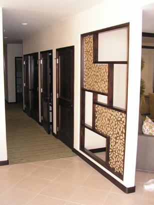Trim Carpentry - Modern Office