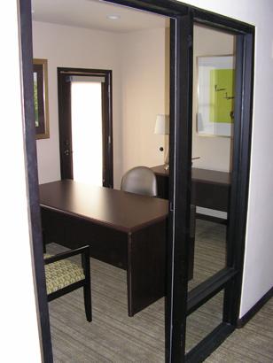Office Trim and Door install
