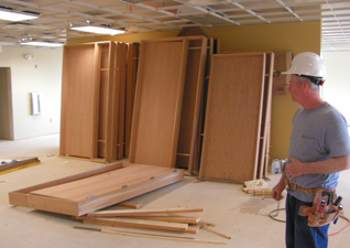 Trim Work - Commercial Door Installation