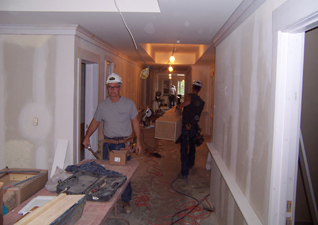 Commercial Trim Carpentry on Nursing Home