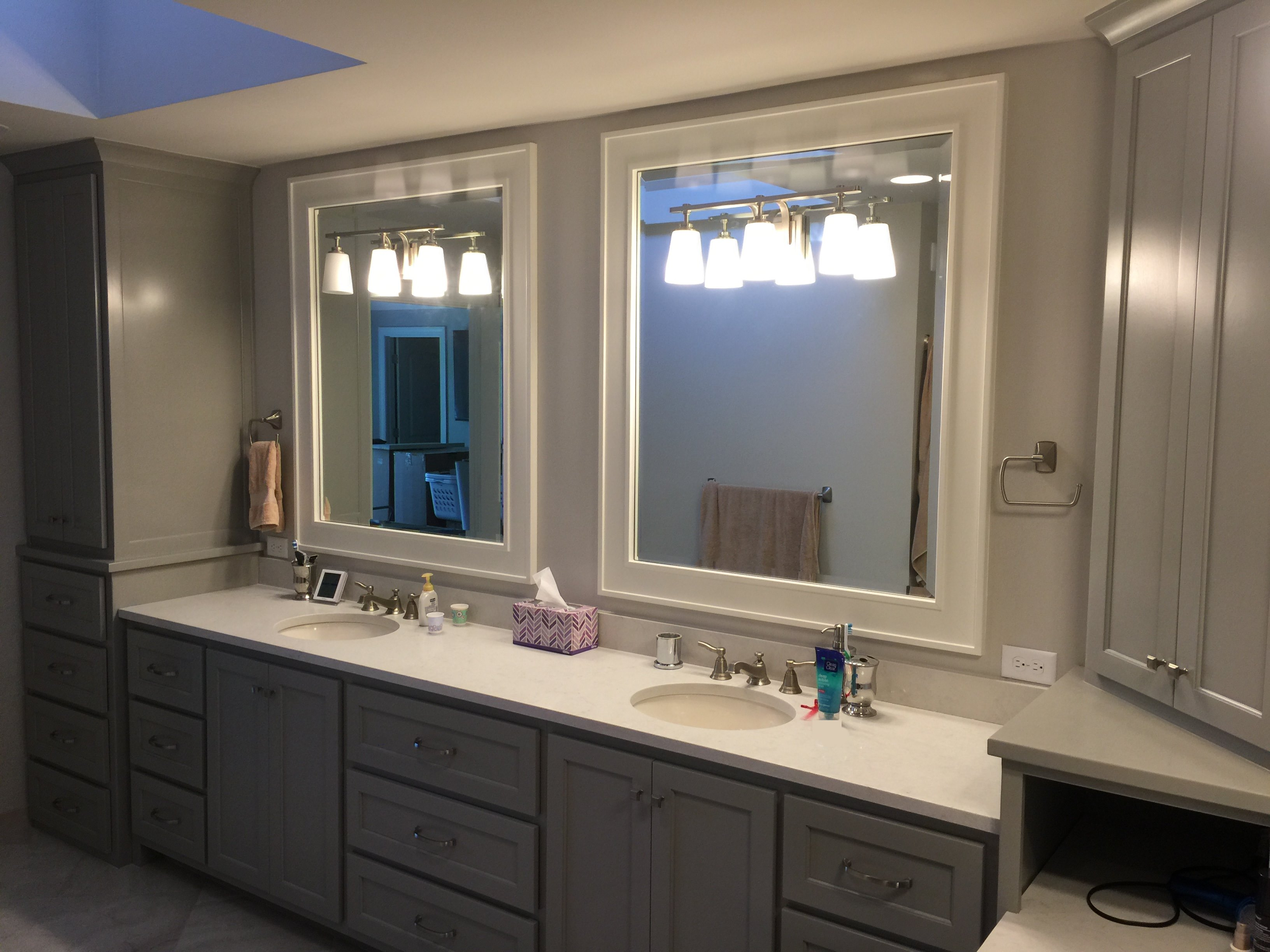 Charmant Gray Cabinets, Master Bath