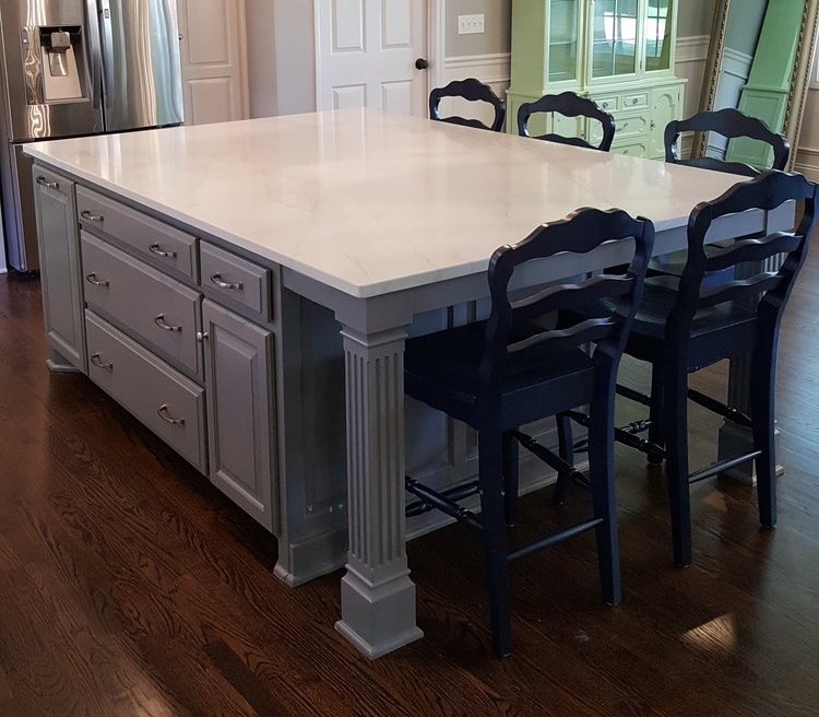 Custom Kitchen Islands: Custom Island Cabinets