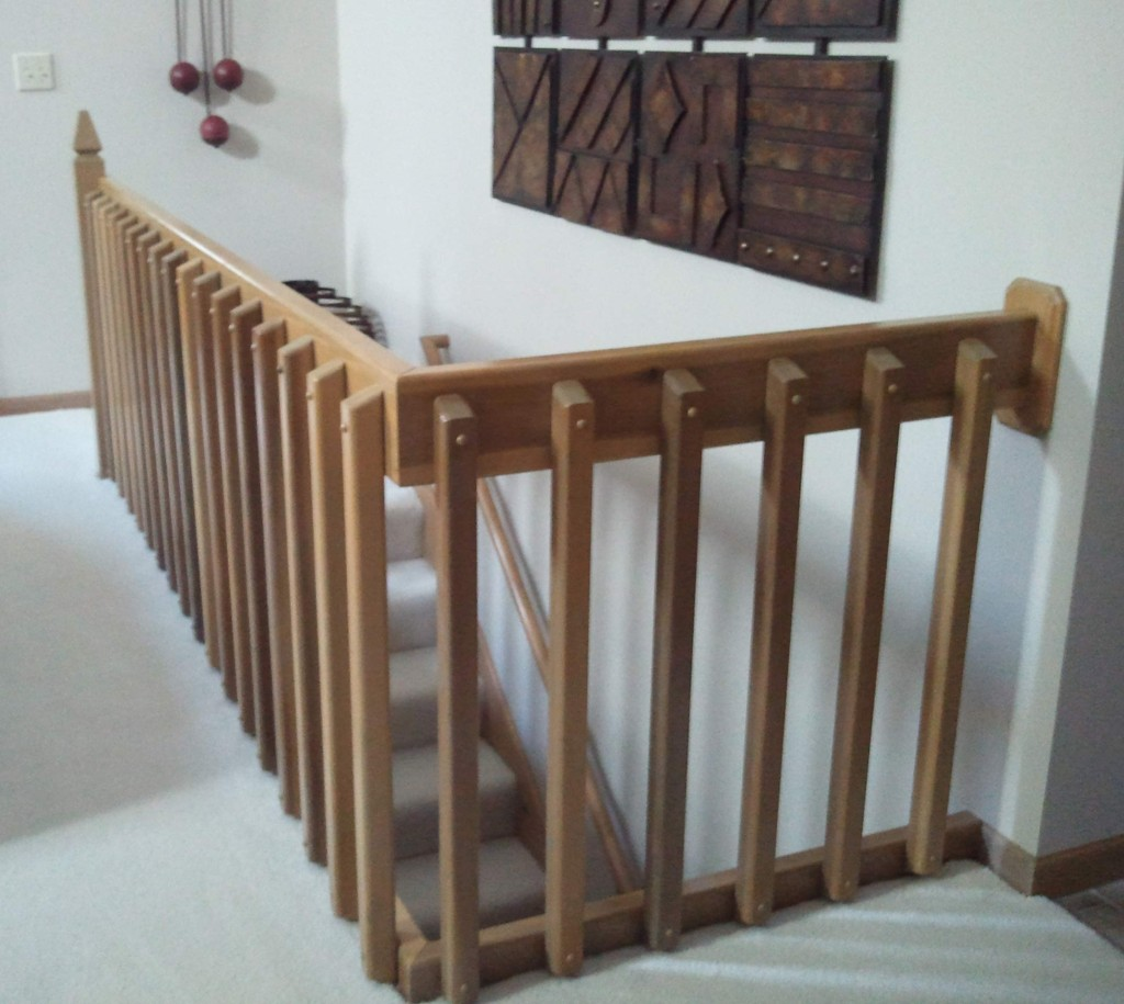 Bannister-Before